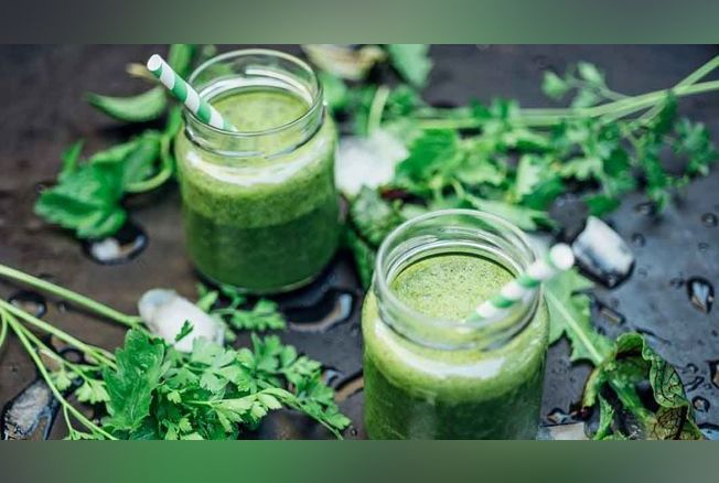5 jus de plante bons pour la santé