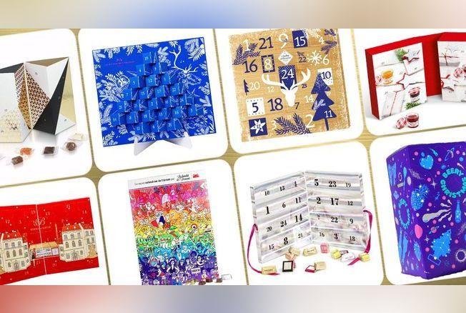 17 calendriers de l avent gourmands shopper. Black Bedroom Furniture Sets. Home Design Ideas