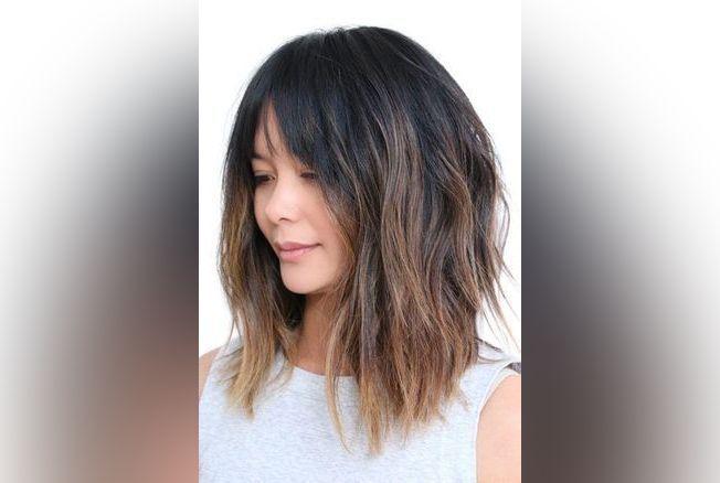 30 Idées De Coiffures Pour Les Cheveux Mi Longs