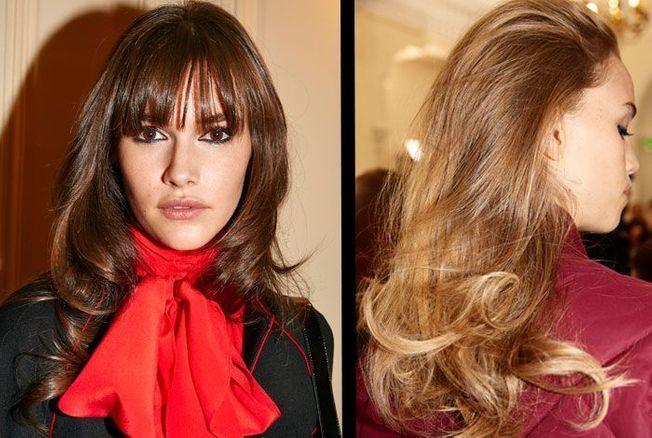 Tuto coiffure : le brushing dynamique du défilé Vanessa Seward