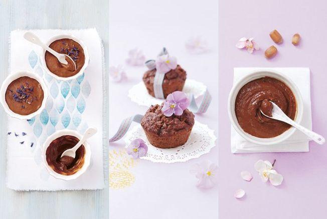 3 desserts au chocolat sans sucres ajoutés