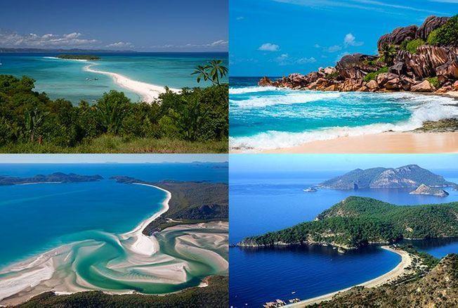 8 plages de rêve autour du monde