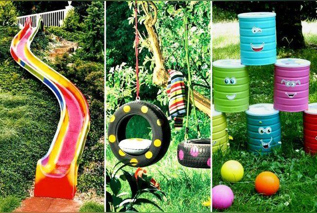 10 jeux de jardin pour enfants repérés sur Pinterest