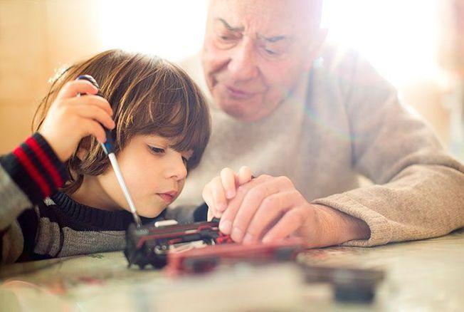 9 inventions de grands-parents pour amuser leurs petits-enfants