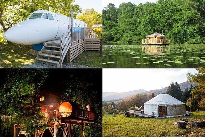 12 logements Airbnb insolites en France