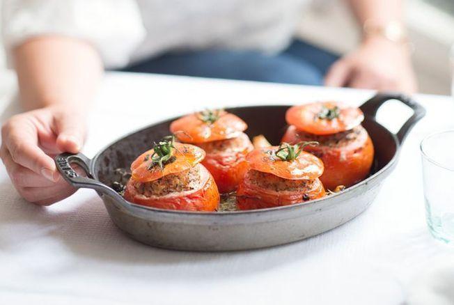 Tomates farcies d'Hélène Darroze