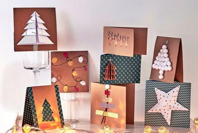 DIY : 8 cartes de vœux originales