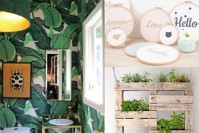 Tendances Decoration 2019 Jaune Moutarde Tole Et Carreaux Peints