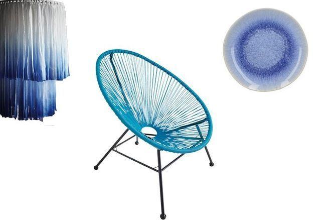 Déco : le bleu, couleur tendance du printemps/été