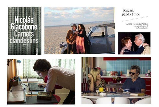 5 films et livres en direct de Cannes