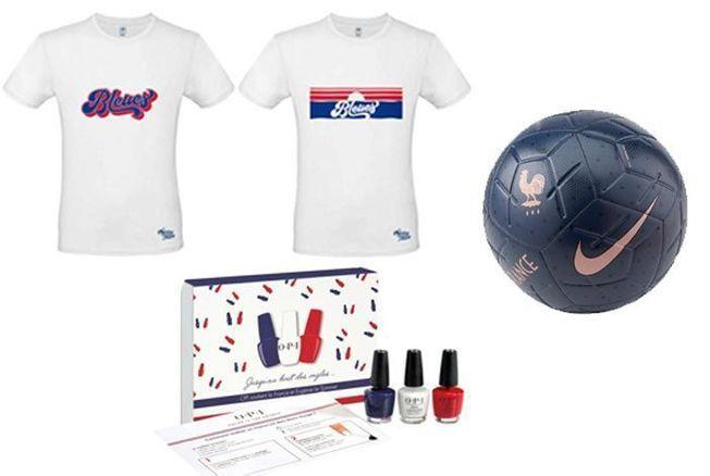 Coupe du Monde de football féminine : 10 produits pour soutenir les Bleues