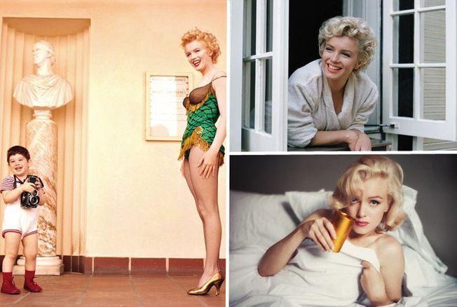 Marilyn Monroe comme vous ne l'avez jamais vue