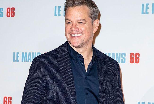 Matt Damon : « J'essaie de garder mes enfants éloignés d'Hollywood ! »