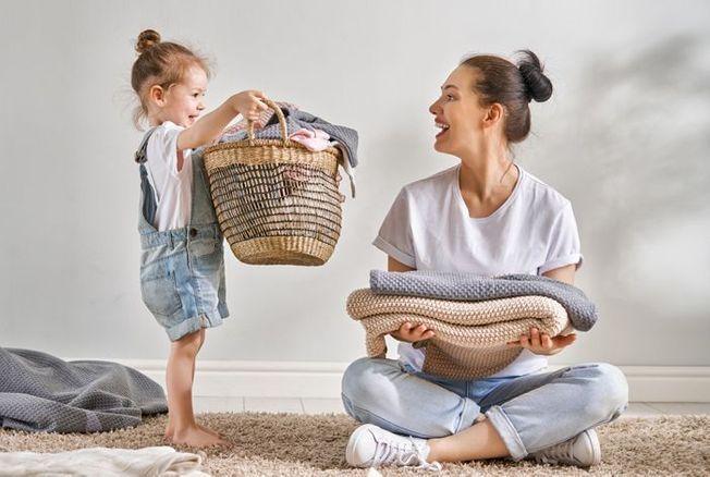 Pour 40 % des petits garçons, c'est leur conjointe qui fera la lessive quand ils seront grands