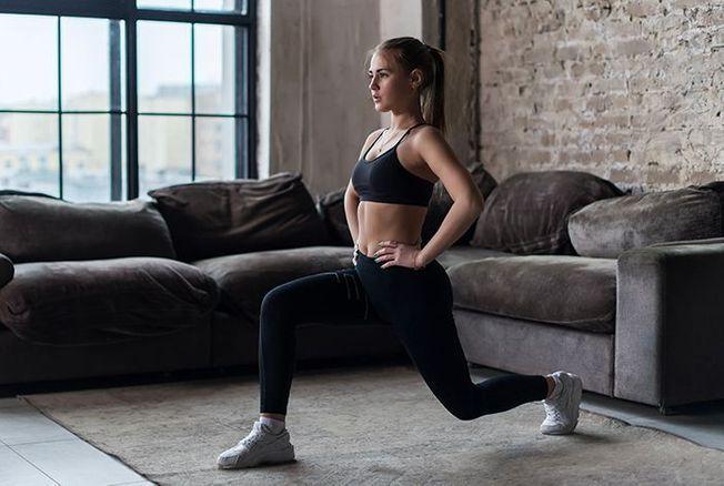 Gym A La Maison Sport A Domicile Forme Version Femina