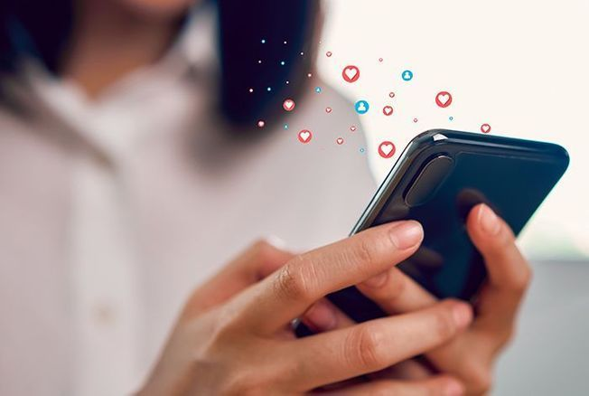 Le temps passé sur les réseaux sociaux par les Français est moins élevé qu'on ne l'imagine