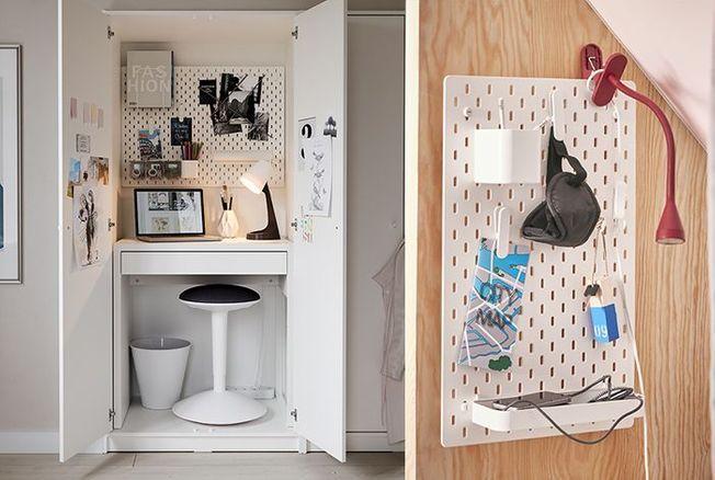 IKEA : 12 idées déco pour télétravailler dans un petit espace