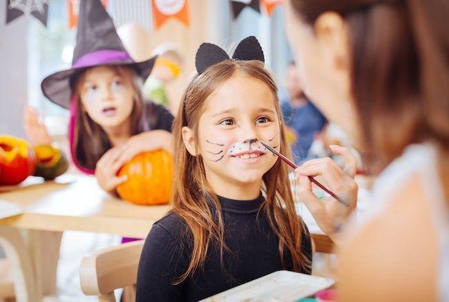 Halloween 7 Tutos Maquillage Pour Enfant Faciles A Realiser