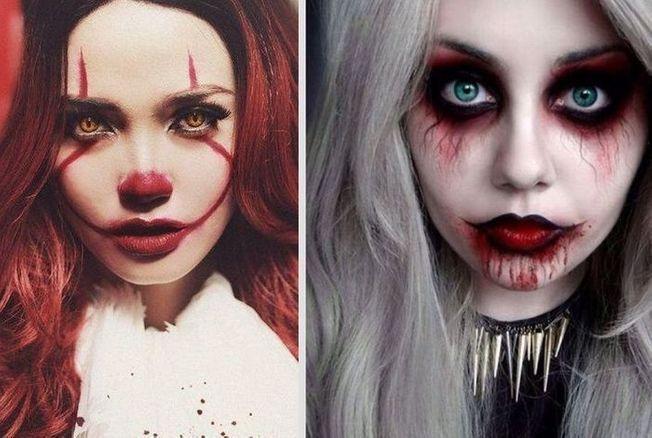 Maquillage D Halloween Pour Femme 20 Idees Faciles Et Effrayantes