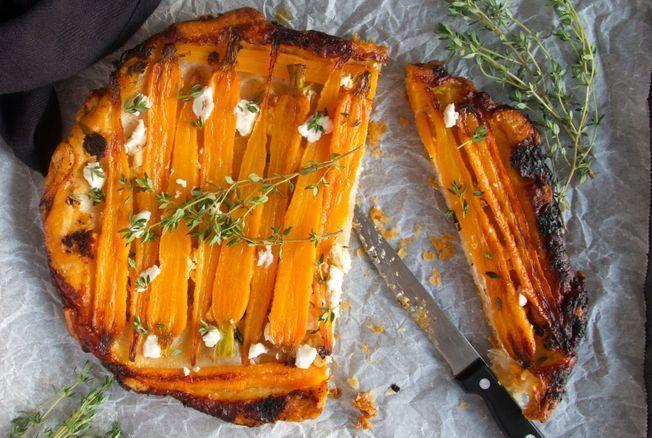 Christophe Michalak nous régale avec une recette de tarte aux carottes ultra facile et originale